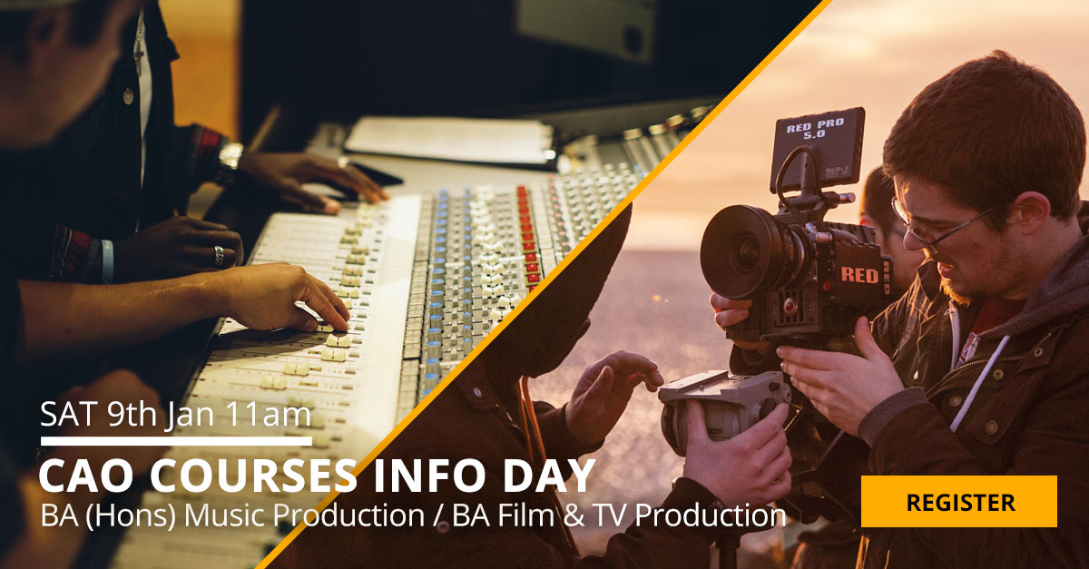 CAO Pulse college film production music production facebook link image