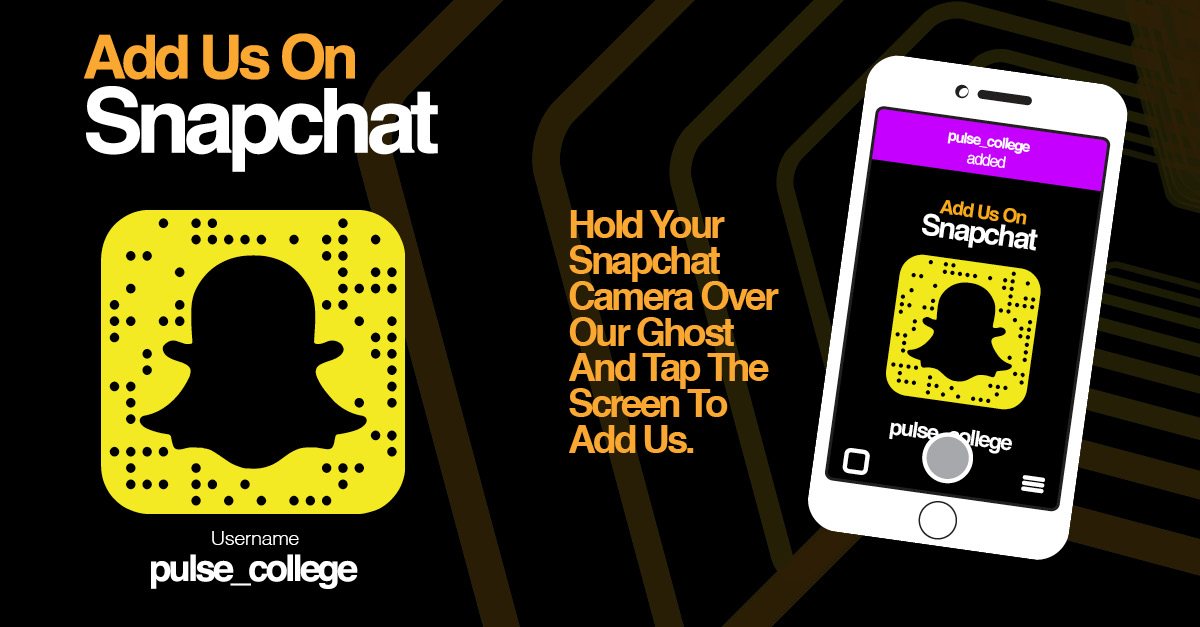 follow pulse college snapchat