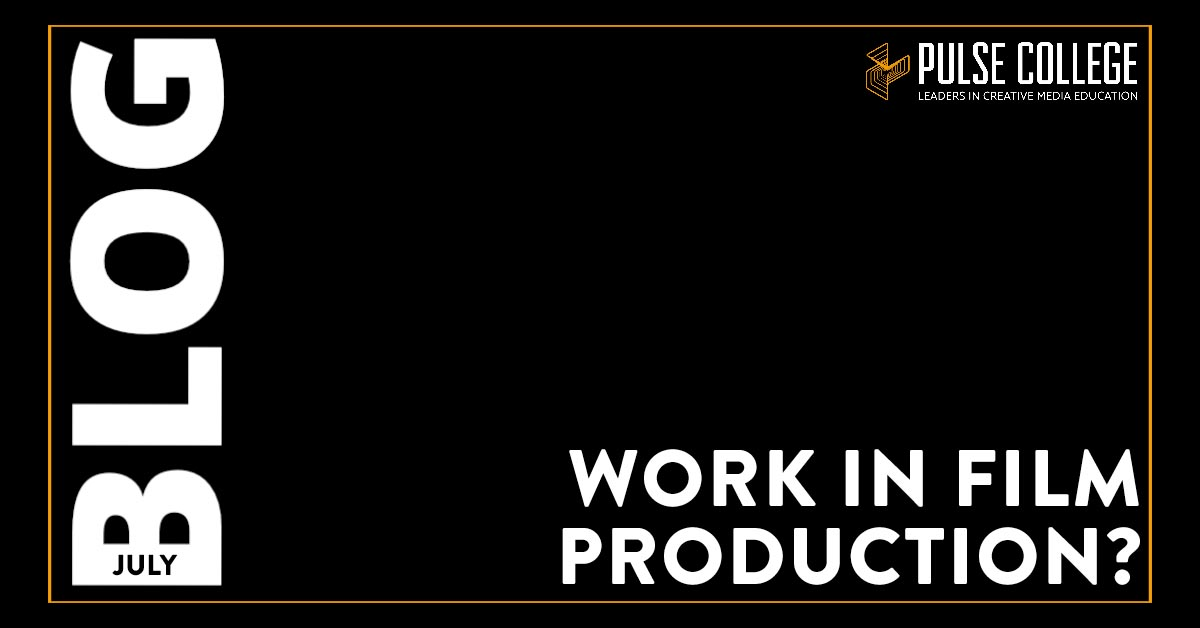 Work in Film Production?
