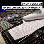 film scoring live webinar pulse college feb 2016
