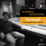 Alumnus - Paul Enright INSTAG Alumnus Blog Music production for games pulse college