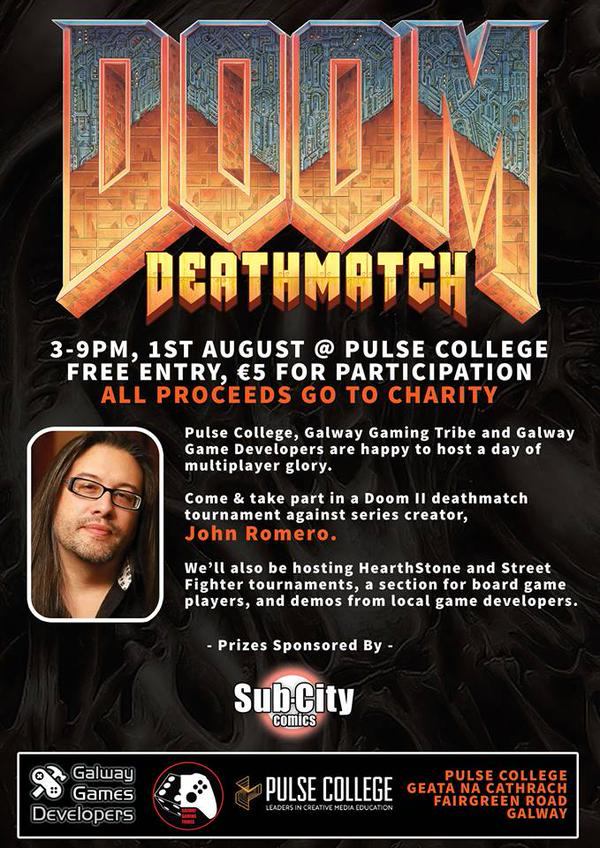 Doom deathmatch pulse college galway