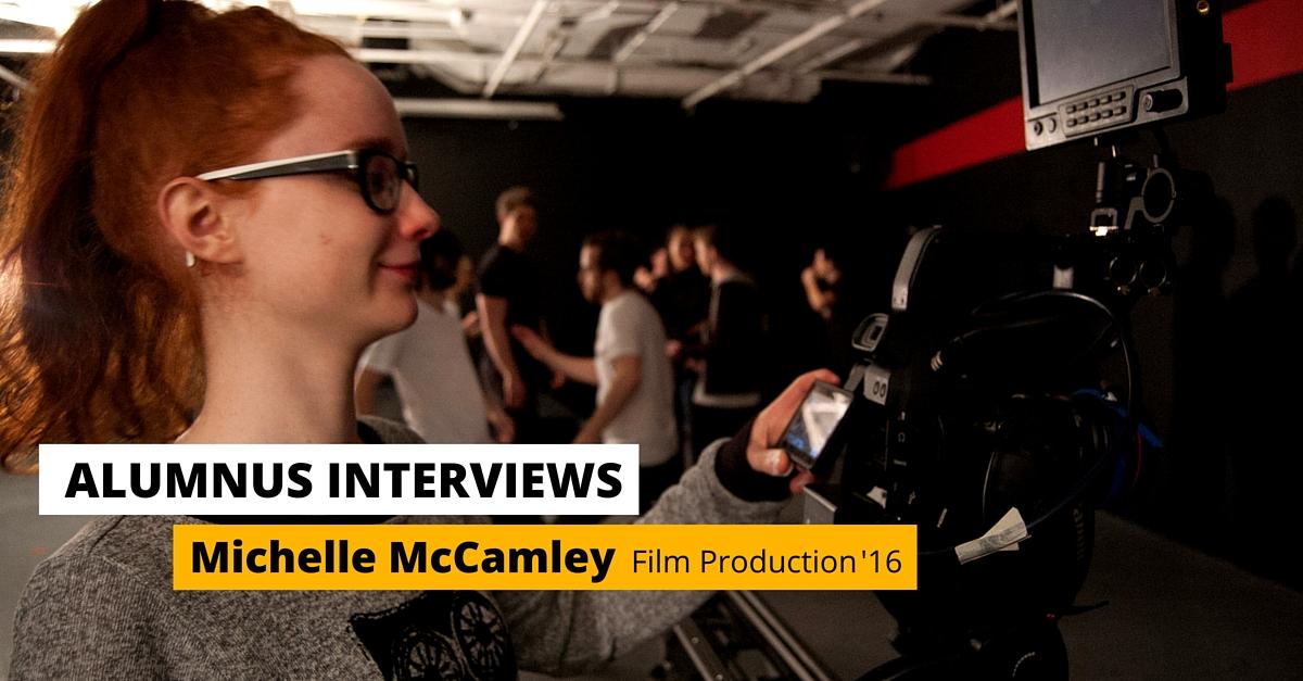 michelle mccamley film production alumnus interview pulse college