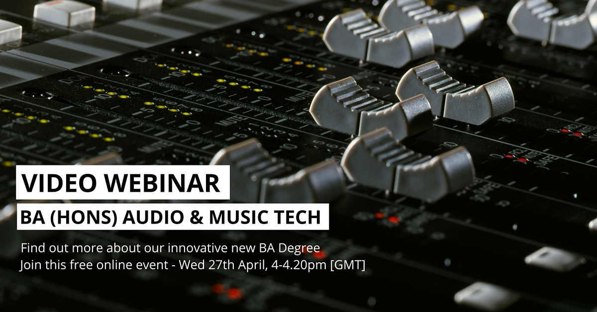 music technology pulse college live event blog