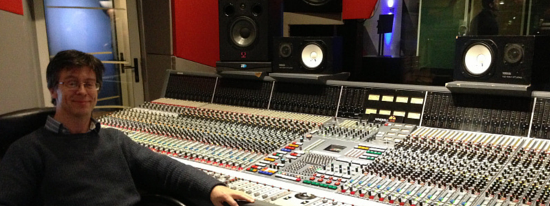 Paul Enright alumnus interview sound engineering
