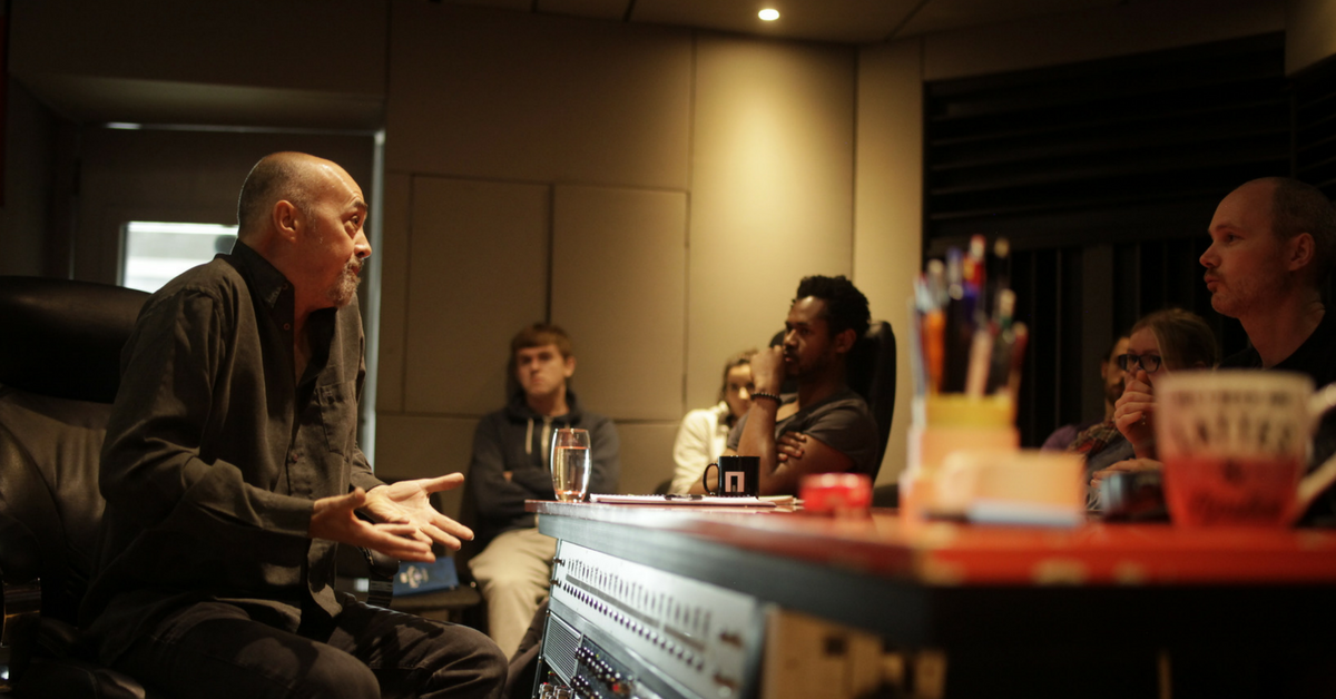 Steve Osborne pulse college masterclass music production dublin