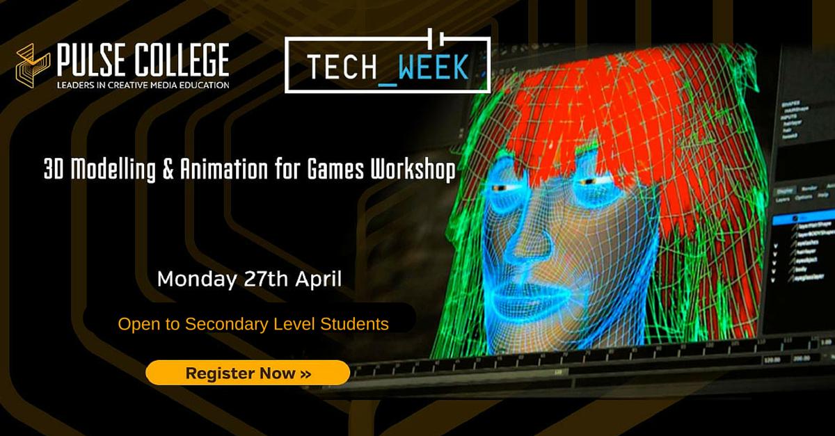 tech week pulse college games workshop