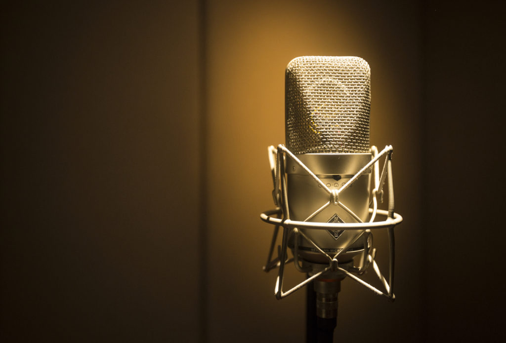 Microphone. Windmill Lane Studio one