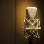 Microphone. Windmill Lane Studio one