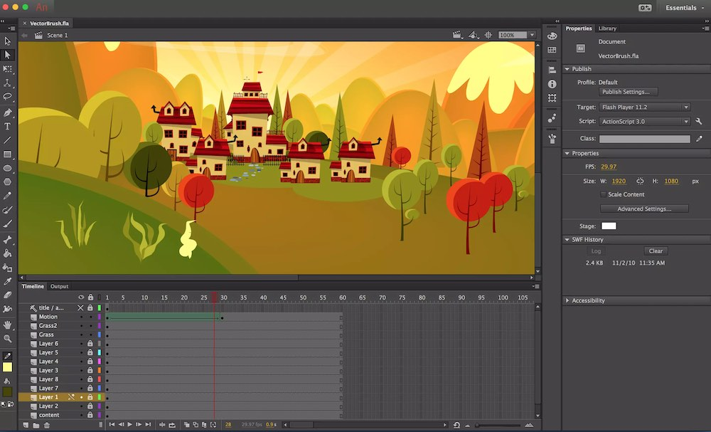 Animation Introduction – 2D Animation in Adobe Animate
