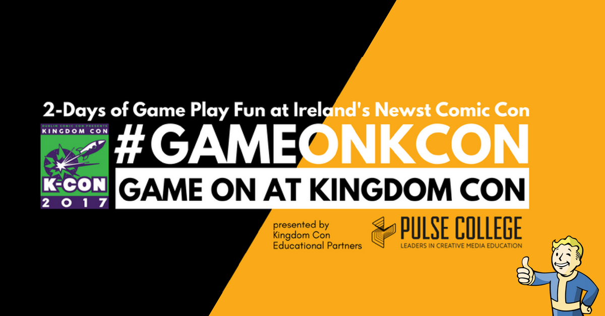 kingdom con pulse college dublin comic on