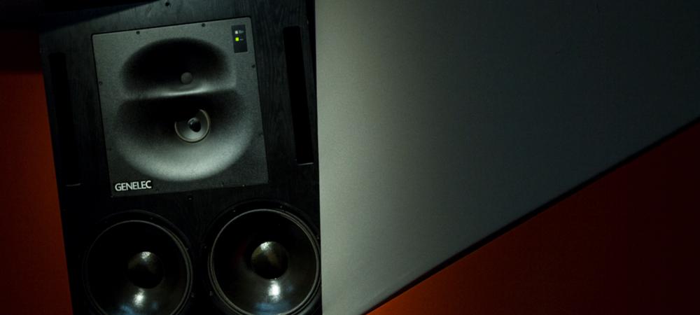 genelec monitors recording equipment