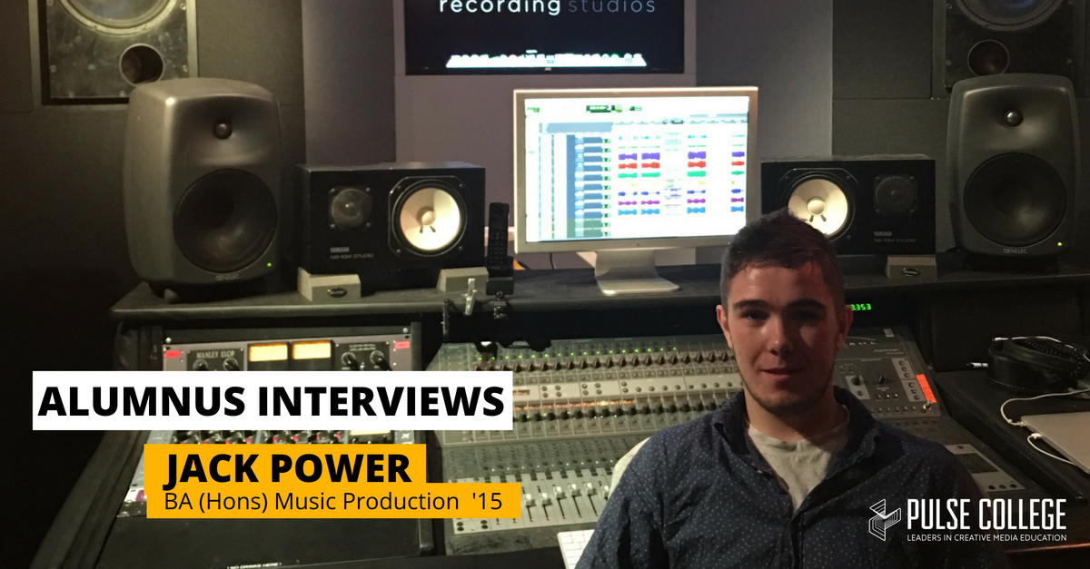 jack power pulse college music production alumnus interview 2