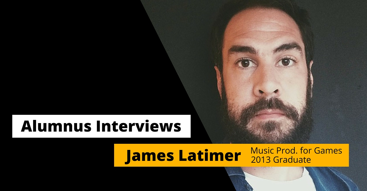 pulse college music production james latimer alumnus profile 2